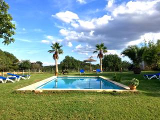 PANORAMIC VILLA ON 40.000qm PLOT,POOL,CLIMATE,WIFI, Porto Colom