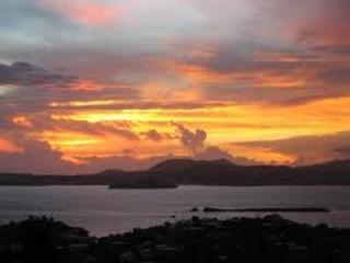 Sunset Views from Upper Deck