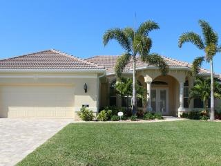 Amazing Cape Coral Vacation Rental with boat dock, located on a wide canal in the southwest of Cape Coral., Saint James City