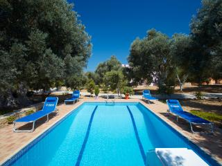 Accommodation at 3 holiday houses in a large olive grove with pool