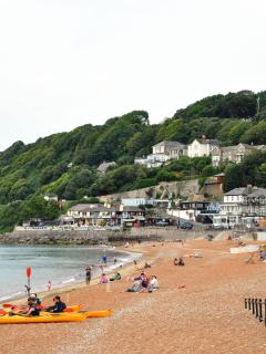 Ventnor Bay sandy beach