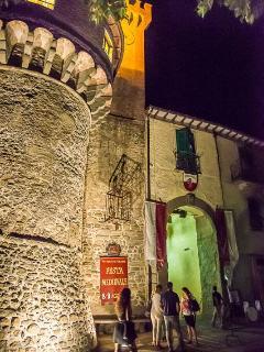 Castiglione by night