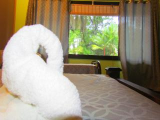 Triple room at the beach, Manuel Antonio National Park