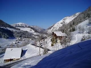 High end apartment with stunning views, Chatel