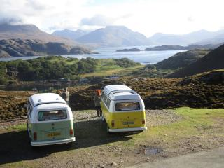 Scotland Classic Campers -View from the Slow Lane