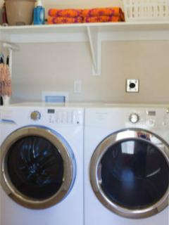 Full size high efficiency washer and dryer