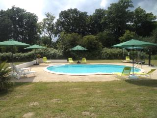 Spacious Gite in rural location with 10x5m pool, Lubersac