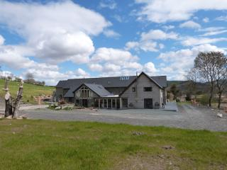 Rhyd y Mynach: Group Accommodation & Hot Tub-81160, Aberystwyth