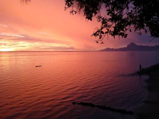 Villa Vahineria - TAHITI - beach 4 bedrooms - TIS, Punaauia