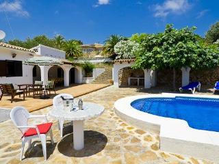 Villa Flores en Benissa,Alicante,para 10 huespedes