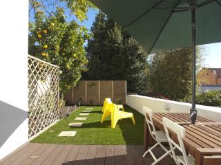 Sunny garden apartment in Av. da Liberdade, Lisbonne