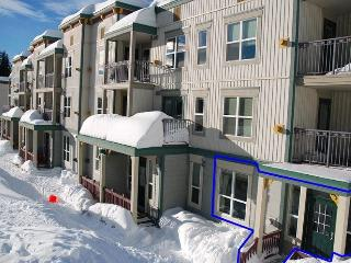 Snow Place Like Home - True ski in-ski out - 2 bedroom/2 bath - Pet Friendly!