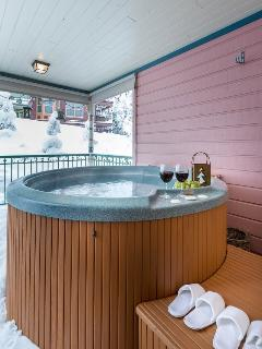 beautiful hottub