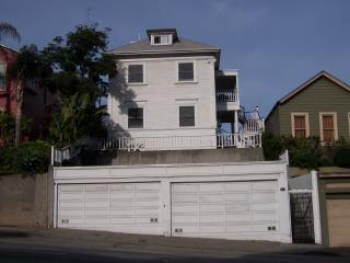 View of House with Garages from Bay Street