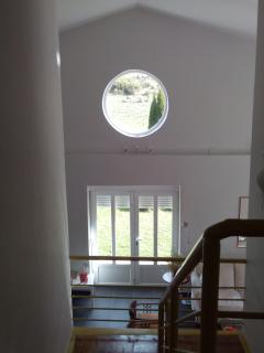 vista desde piso superior