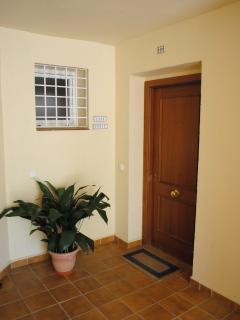 Entrance to our apartment,  Casa Fenix