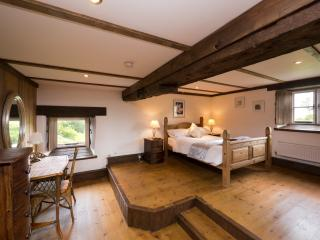 The Master Bedroom is spacious and has an En Suite, relax to the sound of the River flowing