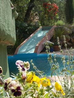 A water slide for your children