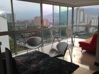 Modern 2BR apt amazing views of the city Poblado, Medellin