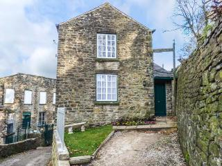 THE FIREMAN'S HOUSE next to Grade II* listed mill, near river in New Mills Ref