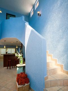 Walkway up to 3rd bedroom