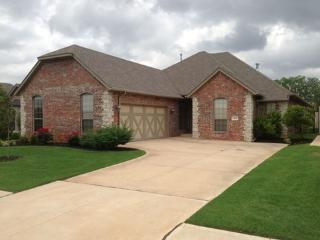 Upscale Edmond home in a new gated community