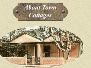About Town Cottages - Blue Bush Cottage