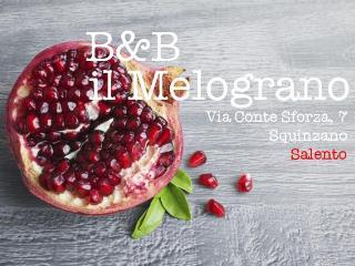 B&B il Melograno: relax nel Salento, Squinzano