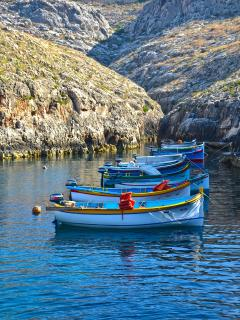 Blue Grotto area