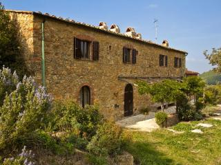 A stone farmhouse 1850, heated pool, Lo Stallone, Pomarance