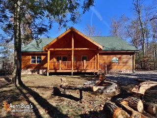5 Bedroom Smoky Mountain Private Indoor Pool Cabin with Theater Room in Cosby