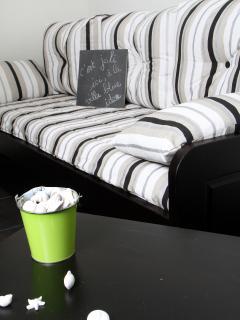 Le canapé et lit gigogne