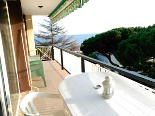 Apartment next Barcelona,pool,100m beach and train, Sant Andreu de Llaveneres