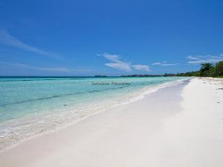 ABSOLUTELY BEACHFRONT!! POOL! STAFF! SECURITY-Negril Beach Villa, - 7 Mile beach