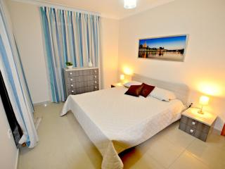 Main Bedroom is air-conditioned and comes with a spacious balcony