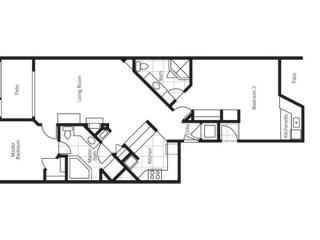 The 2BR Lockoff Standard and Mesa Suite