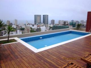 MODERNO DEPTO. 1 DORM. BALCON C/PISCINA GYM SAUNA, Lima