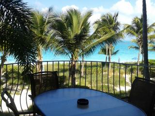 Two Bedroom Direct Beachfront Condo - Sleeps 4, Providenciales