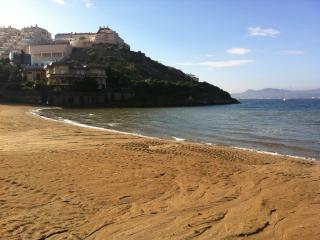 Playa Cala del Pino en La Manga del Mar Menor B, Playa Paraíso
