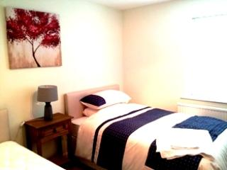 Part of the twin room, with roomy small double beds, instead of single beds.