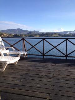 Vista desde el deck