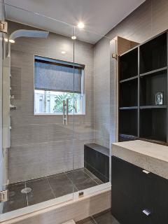 Chic, modern Master Bath!