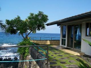 Apple Oasis- Oceanfront! Pool Table, Hammocks!, Kailua-Kona