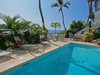 Oceanfront Shangrila- Private Ocean Oasis, Pool!, Kailua-Kona