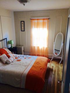 Bedroom #2 (The Orange Room): Queen size bed