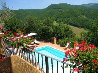 CASETTA/KATE MOSS, THE FAMOUS MODEL, STAYED HERE !, Spoleto