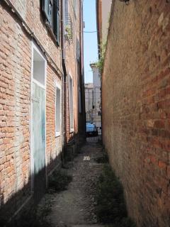 vicolo dei duelli una delle vie più antiche di Ferrara