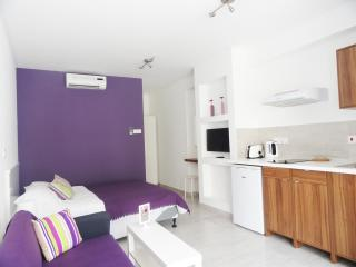 Rainbow - Purple Studio Apartment