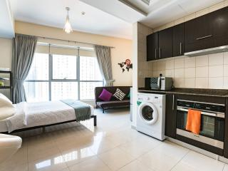 Stylish interior of the apartment