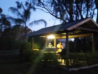 BBQ and entertaining area